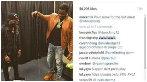 Meek Mill Imitates Igbo Tradition As He Honours Fallen Loved Ones, Fans Reacts